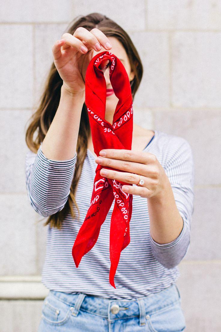 How to Tie a Bandana like a French Girl
