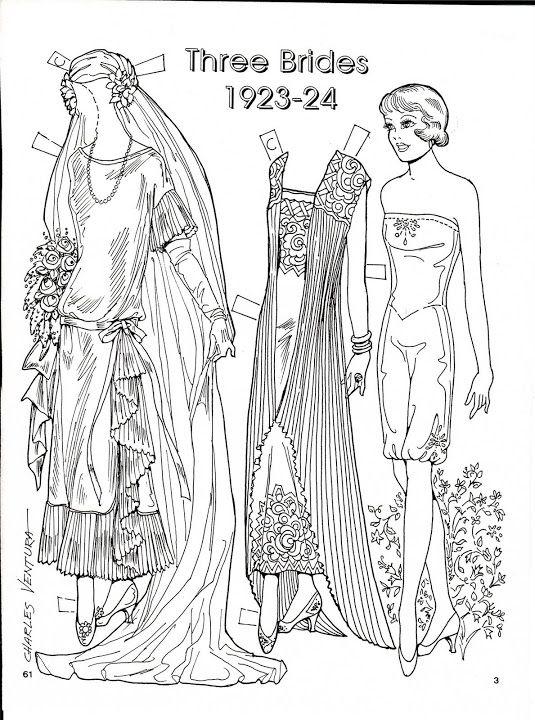 678 best Paper Dolls: Brides & Ballet images on Pinterest