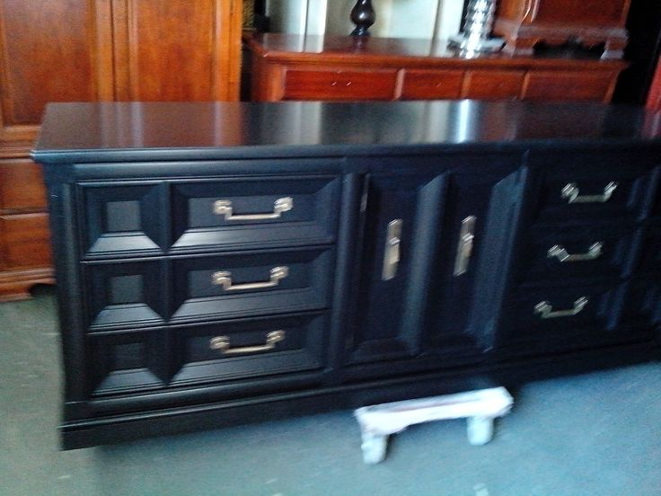 Refinished After. Furniture Refinishing