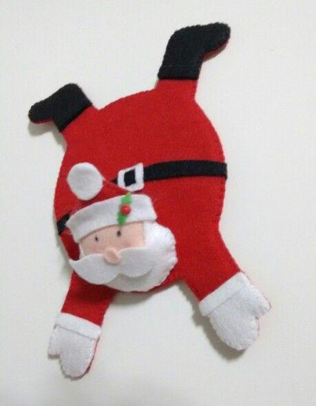 Tapete de caneca Papai Noel