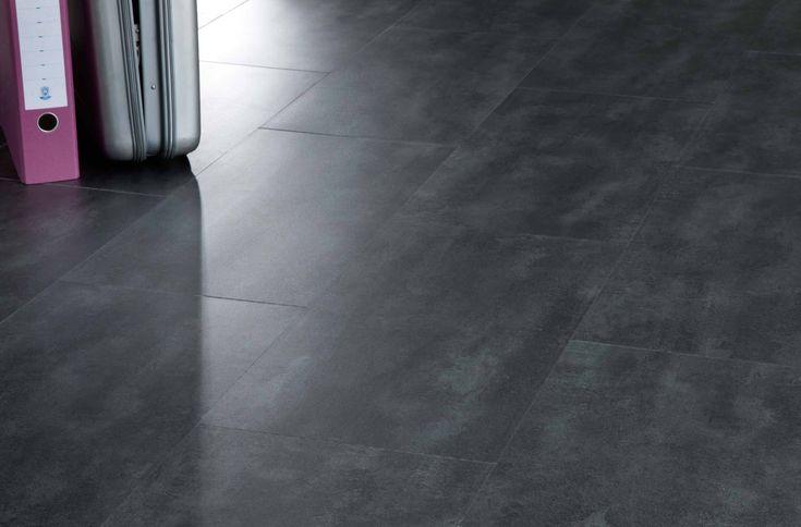 Concrete 40986 - Stone Effect Luxury Vinyl Flooring - Moduleo