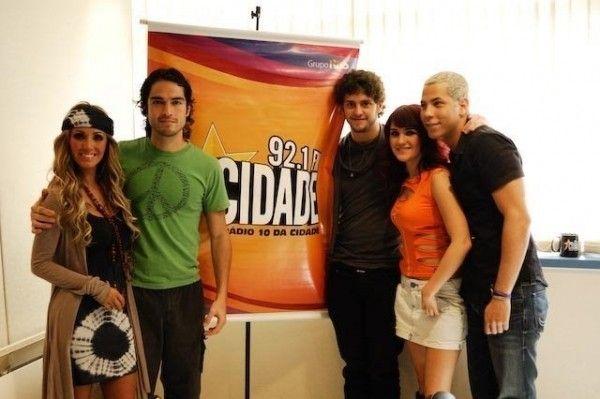 RBD en Estacion de Radio Sao Paulo