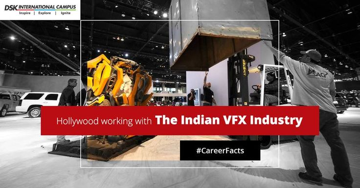 #CareerFacts #India's #Reliance #Media Works' #animation and #VFX #studio has worked for several #Hollywood #blockbusters like #Transformers3 – Dark Side of the Moon, #Expendables2, #StarsWars Trilogy, G.I. Joe: Retaliation and many more! #DSKIC #DSKInternationalCampus