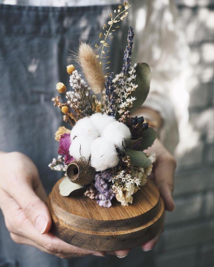 Pin Oleh Vanessa Aguiar Decor Di Flower Bunga Kering Bunga Kreatif