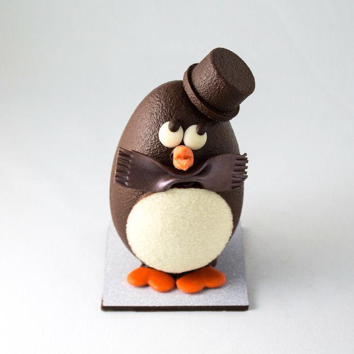 cute round penguin