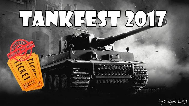 WIN 2 TANKFEST 2017 TICKETS! (for Sunday, 25th of JUN - courtesy of Warg...