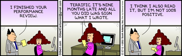 The Dilbert Strip For October    Business Cartoons