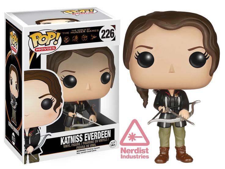 Katniss Everdeen Exclusive: Funko Enters THE HUNGER GAMES with New Pop! Figures | Nerdist