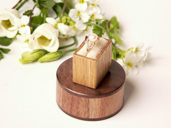 Ring box - unique #engagement #gift  by Woodstorming.