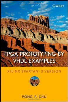 FPGA Prototyping by VHDL Examples, great book about digital hardware design and synthesis