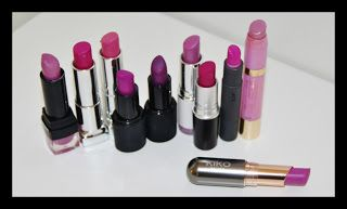 MichelaIsMyName: Orchid Lipstick Collection