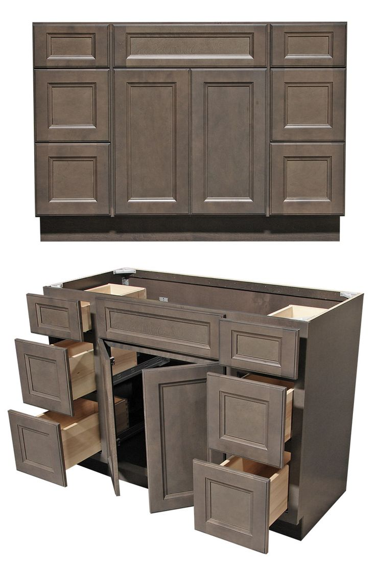 Kitchen cabinets and rta bathroom vanities availablekitchen cabinets - If You Are Looking For A Trendy Grey Shaker Then West Point Grey Is Your Answer Grey Bathroom Vanity