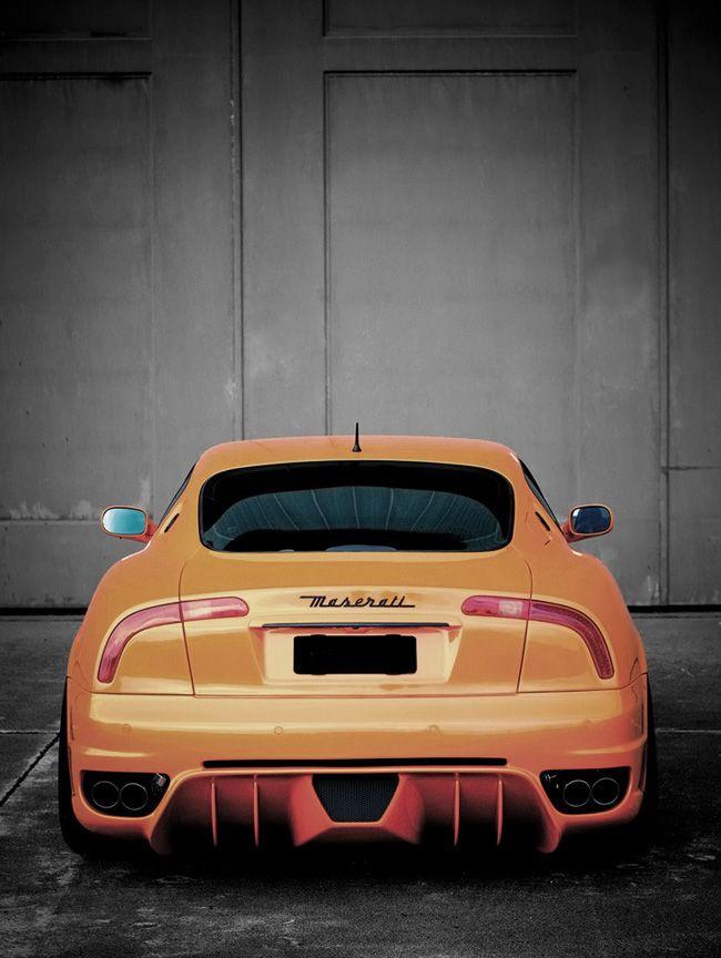Maserati 4200 GT Cambiocorsa by custom car shop G Exclusive.