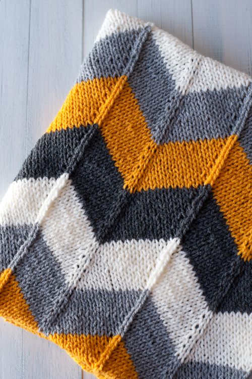 Lanukas: ¡Chevronízate! Otra manta para bebé. https://espacetricot.files.wordpress.com/2011/12/chevron-baby-blanket1.pdf