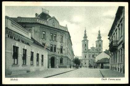Miskolc Deák Ferenc-ucca   Képeslapok   Hungaricana