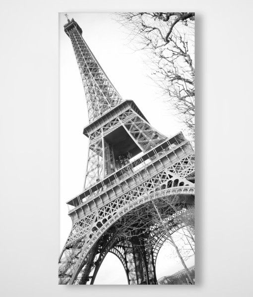 Eiffel Tower Paris Canvas Wall Print