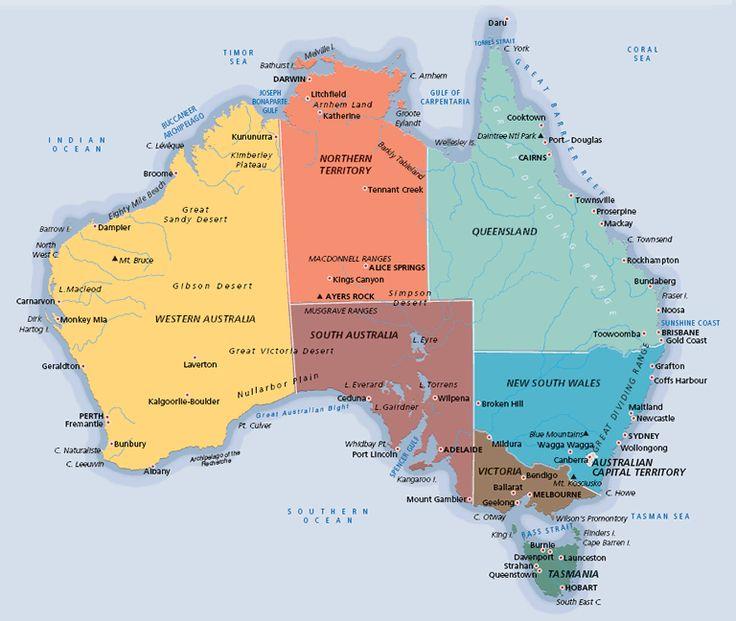 I want to visit Australia