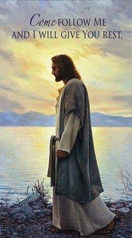 Life In The Fast Lane: Pictures of Jesus I Will Give You Rest