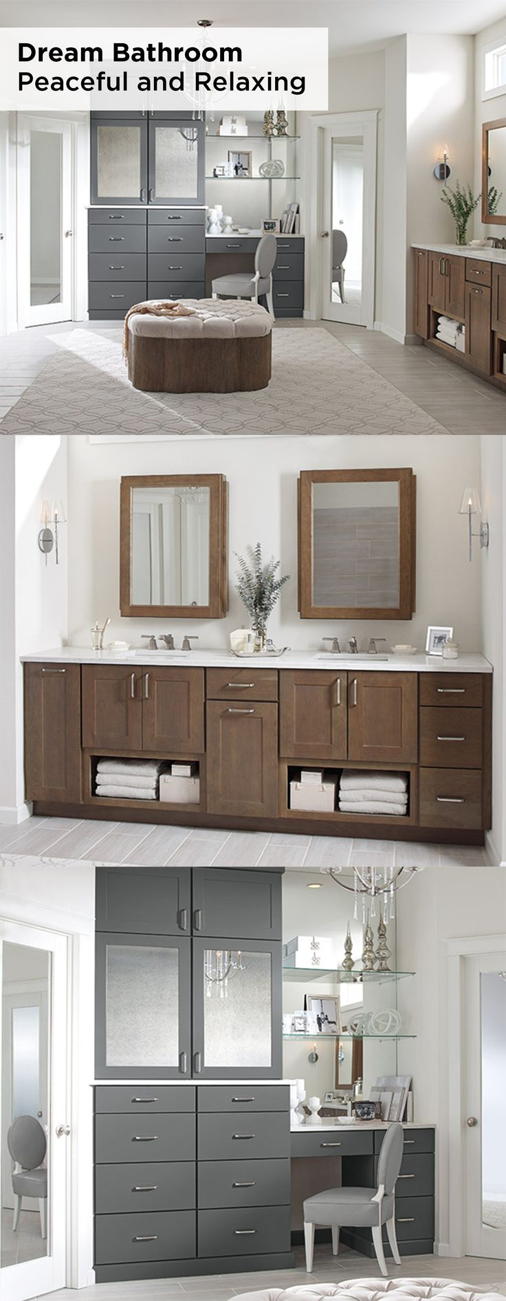 Diamond design kitchen bath gallery - Let Shaker Style Breman Diamond Cabinets In Morel And