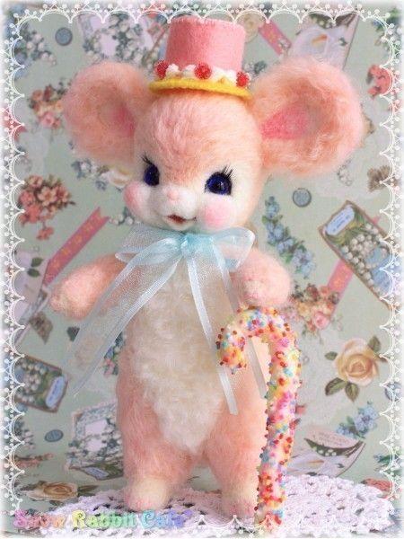 ピンクのネズミちゃん♪ | iichi(いいち)| ハンドメイド・クラフト・手仕事品の販売・購入