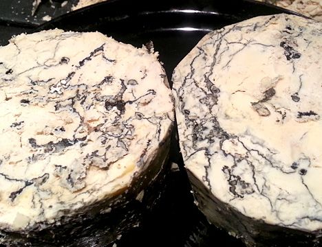 "How to Make Aged Cheese: ""Black and Bleu"" Ricotta Salata"