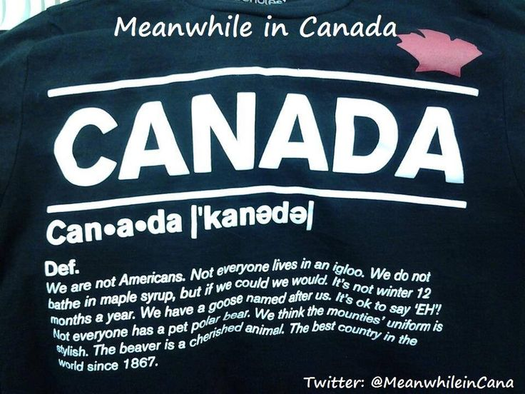 Meanwhile in Canada added a new photo. - Meanwhile in Canada