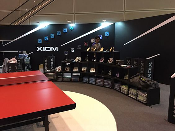 #XIOM #WTTC #TABLETENNIS #RUBBER #BLADE