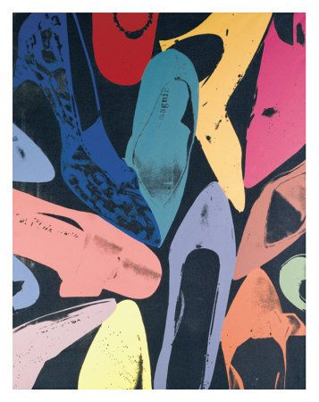 Andy Warhol - shoes!