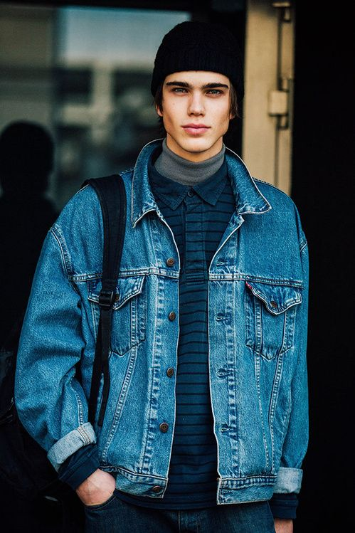 Fashion Week homme Street looks Milan automne hiver 2016 2017 50