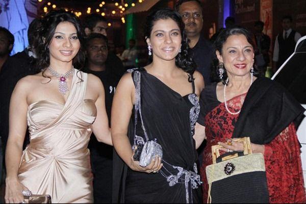 Bollywood's Top 10 Fashionable Mom-Daughter Jodis - Tanuja and Kajol