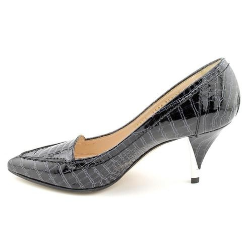 casadei 1594c womens size 7 black heels pumps classics