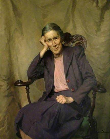 Miss Geraldine E. M. Jebb, CBE, 1952 by Sir James Gunn (1893-1964)