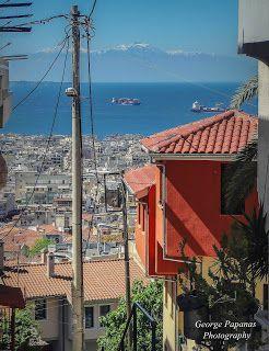 Η μοναδική θέα της Άνω Πόλης Θεσσαλονίκης