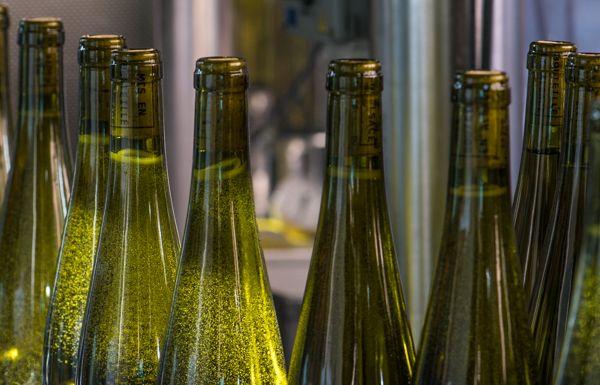 Domaine de l'Envol, mise en bouteille, Pinot Gris