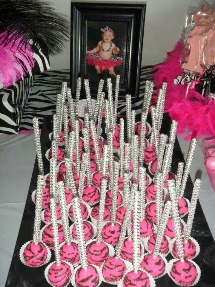 Cakepops zebra
