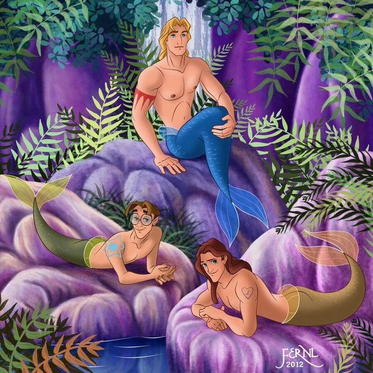 Sereias Disney
