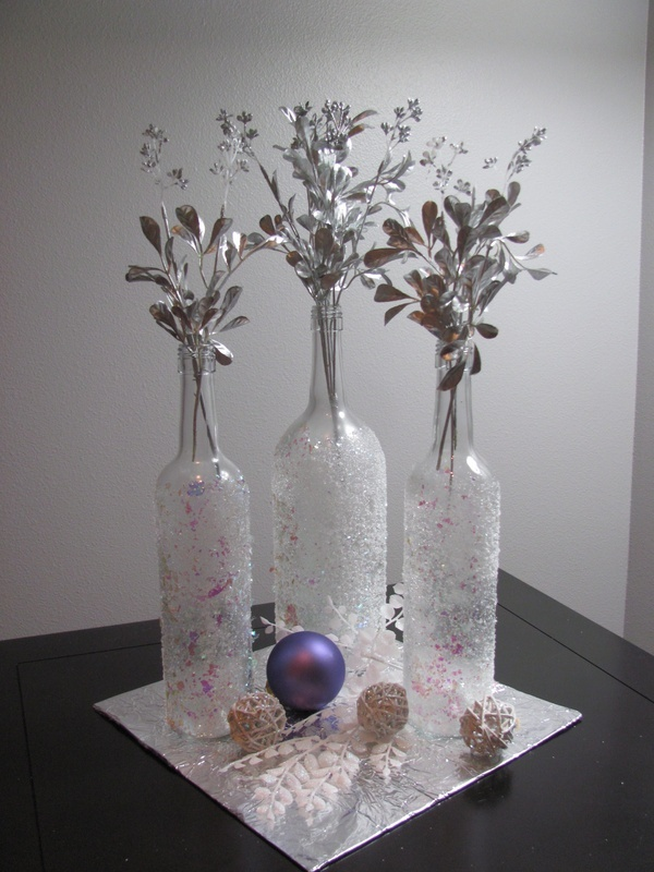 17 best images about party ideas mums birthday on for Empty bottle decoration ideas