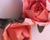 paper flowers: Crafty Stuff, Flowers Stuff, Coral Peonies, Paper Good, Paper Flowers Wow, Paper Peonies, Paper Flowerswow, Coral Paper, Paper Bouquets