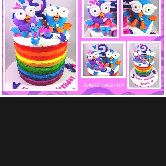 Giggle and hoot, hootabelle cake