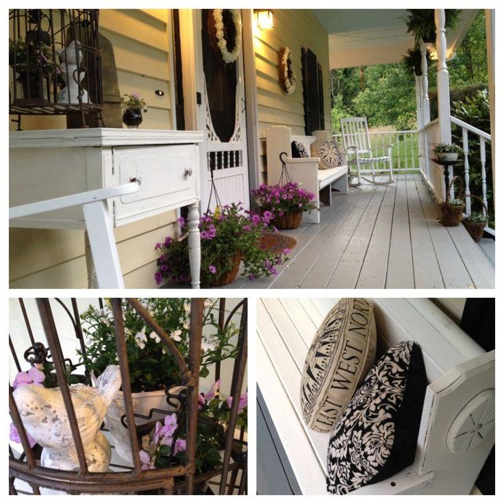 Ideas For Narrow Patio: Porch Decor Narrow Porch
