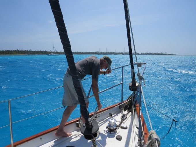 Moving to the Inner Lagoon – Direction Island