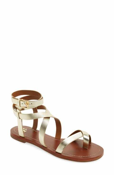 Tory Burch Patos Flat Gladiator Sandal (Women)