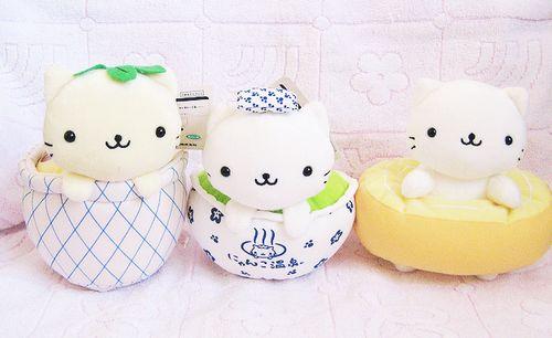 cat cute kawaii asian toy plush sanrio san-x nyan nyan nyako