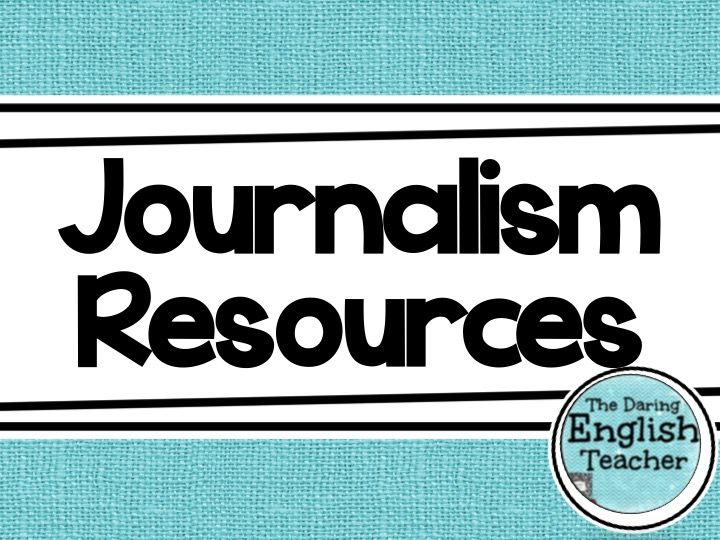 Resources, lessons, and ideas for teaching journalism to middle and high school students.