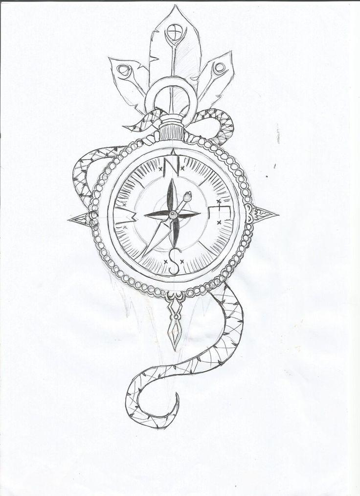 Ampersand Arrow Tattoo