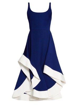 Scoop-neck jersey midi dress | Esteban Cortazar | MATCHESFASHION.COM US