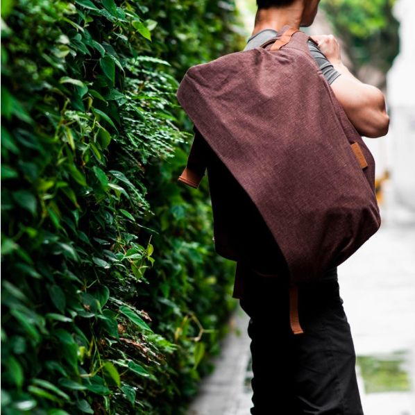 """As functional as it is beguiling, côte&ciel's Isar rucksack in roasted chestnut brown consists of a front compartment with a pocket for valuables and compression straps to organize your belongings. The separate back compartment of the backpack has a padded laptop pocket that protects devices up to and 17"""" Picture courtesy of Singapore lifestyle store CumulusNimbus via Instagram"""