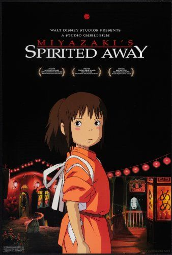 SPIRITED AWAY // Japanese animated fantasy film by Hayao Miyazaki, 2001.