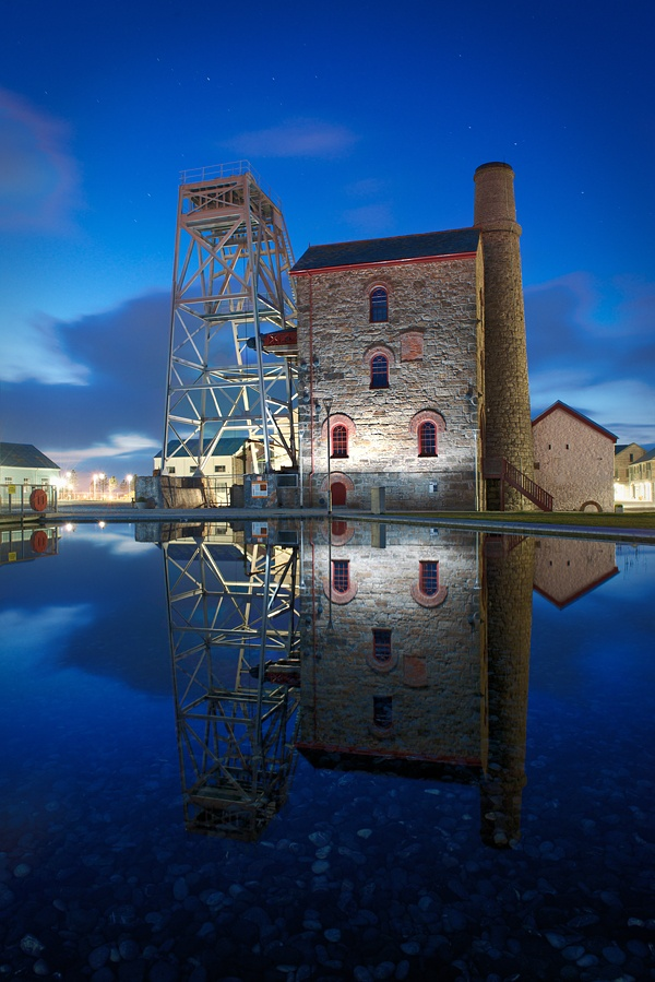 Tin mine at Heartlands