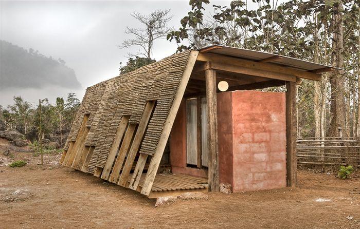 TYIN tegnestue safe haven bath house